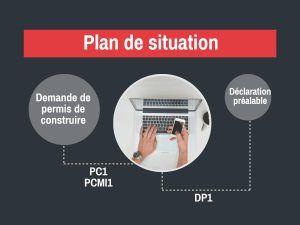 Les principales informations à connaître pour réaliser un plan de situation pour une demande de permis de construire. le plan de situation est une pièce obligatoire du dossier, nommée PCMI1 ou PC1 permettant de situer le terrain et la construction…