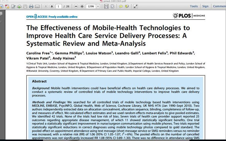 1. Mobile health has the potential to be very beneficial in health and health services delivery processes with great emphasis placed on resource poor settings. 2. Increased mobility and popularity will aide in an increase of patient population being served. 3. Continuation of technological advancements to better facilitates clinical decision support for providers. 4. Clinical trials are needed in the future to evaluate outcomes