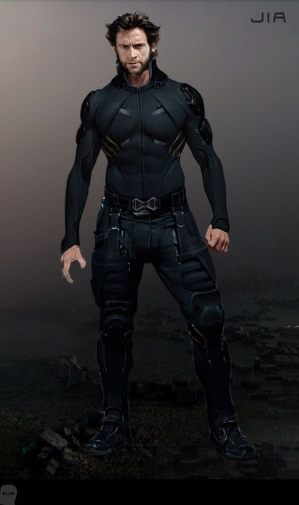 "Concept art of Wolverine from ""X-Men: Days of Future Past"" (2014)."