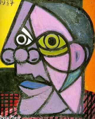 picasso art lesson cubist | Picasso's portraits (pictures of people's faces) uses cubism by ...