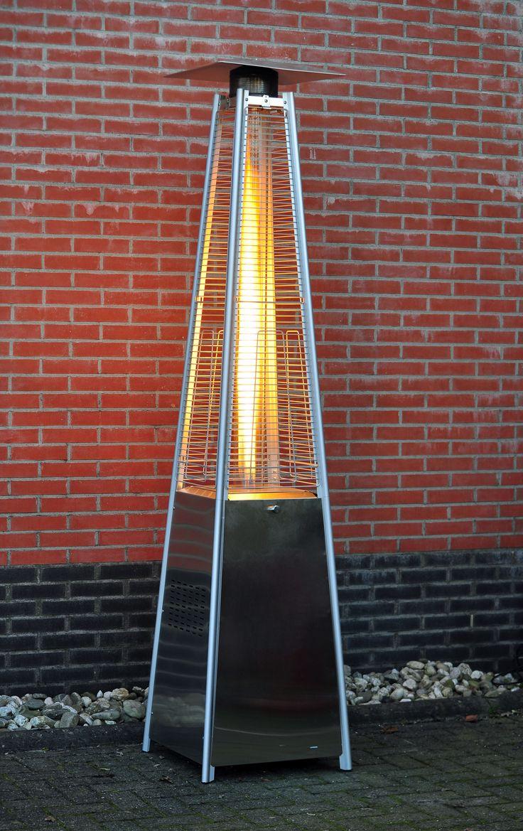 Verlängern Sie die Tage/Abende auf Ihrer Terrasse mit unserem Heizstrahler De Flammen des Terrassenheizers tanzen in der hitzebeständigen Glasröhre. Somit bietet der Heizstrahler...
