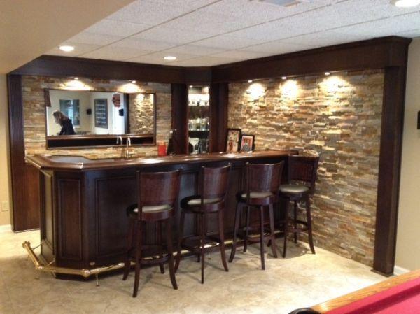 Turn Your Basement Into A Bar 20 Inspiring Designs That Will Make You Drool Basement Bar Plans Basement Bar Designs Basement Bar Design