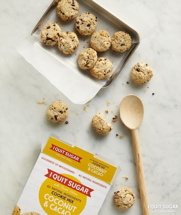It's hard to find cookies these days they aren't packed with nasty additives and overloaded with sugar. Our Coconut and Cacao Cookie Mix is sugar-free and available at Woolworths now. – I Quit Sugar