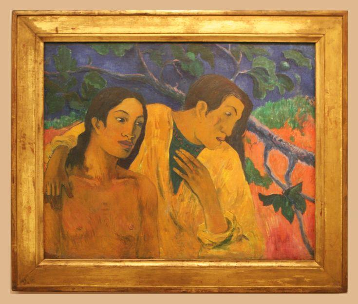 Eugène Henri Paul Gauguin (1848-1903) Flight (Tahiti Idyll), 1902, oil on canvas Trade Fair Palace, Prague