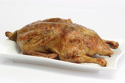 Жареная утка с паприкой и сливочным маслом
