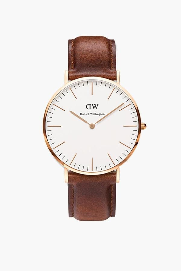 Ladies Classic St. Mawes Rose Gold Watch in Rose Gold by Daniel Wellington - Tnuck