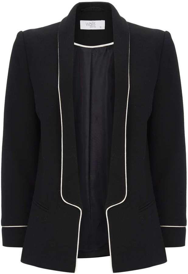 Petite Black Tailored Jacket