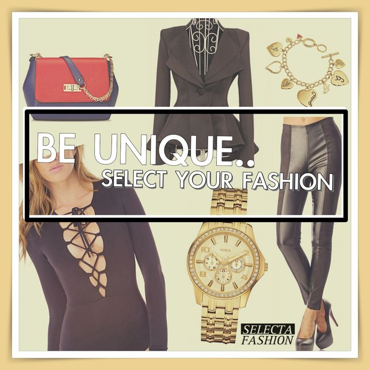 Outfity na bežný deň - Casual outfits - SELECTA FASHION bodysuit handbag guess watch, peplum jacket, wet look leggings, guess bracelet  fashion style inspiration black gold red