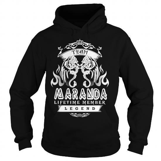 I Love TeeForMaranda  Team Maranda  New Cool Maranda Name Shirt  T-Shirts