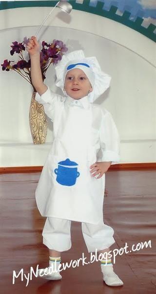 Выкройки детских костюмов для игры в детском саду