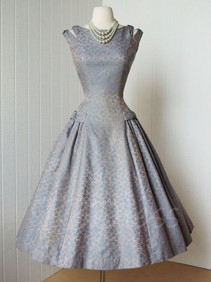 Tbdress.com offers high quality Floral A-Line Vintage Women's Day Dress  Day Dresses unit price of $ 38.99.