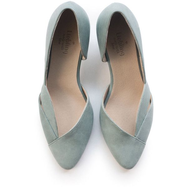 Sale 20% off! Green pumps 95eea4f078bf