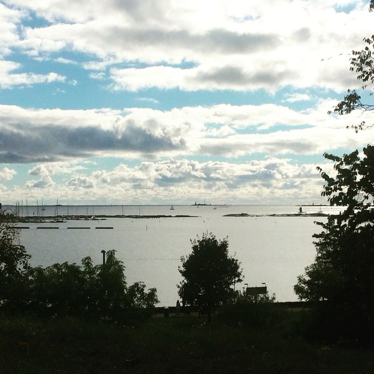 #Helsinki#Kaivopuisto#meri#sea <One of my favorite places, Peacefull and inspiring>