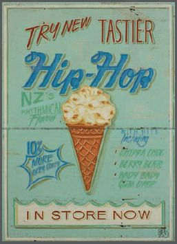 Hip Hop Tip Top by Jason Kelly for Sale - New Zealand Art Prints