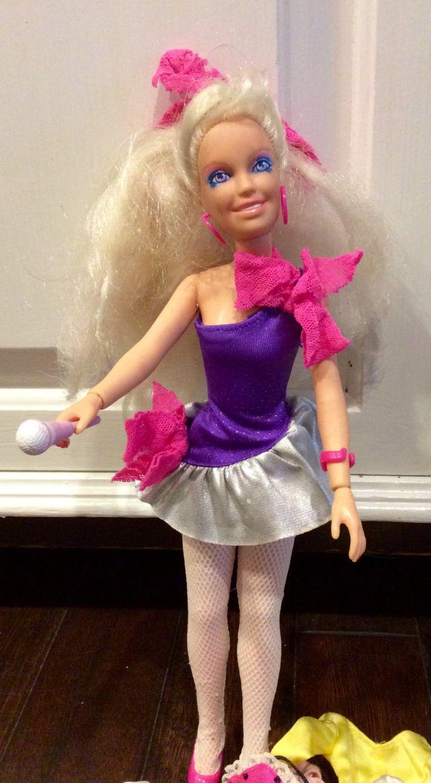 1985 Rock N Curl Jem Doll With Clothes & Accessories by Hasbro, Jem Doll, Vintage Jem Dolls, Jem Jerrica Doll, Jem Doll Accessories, Je. by Lalecreations on Etsy