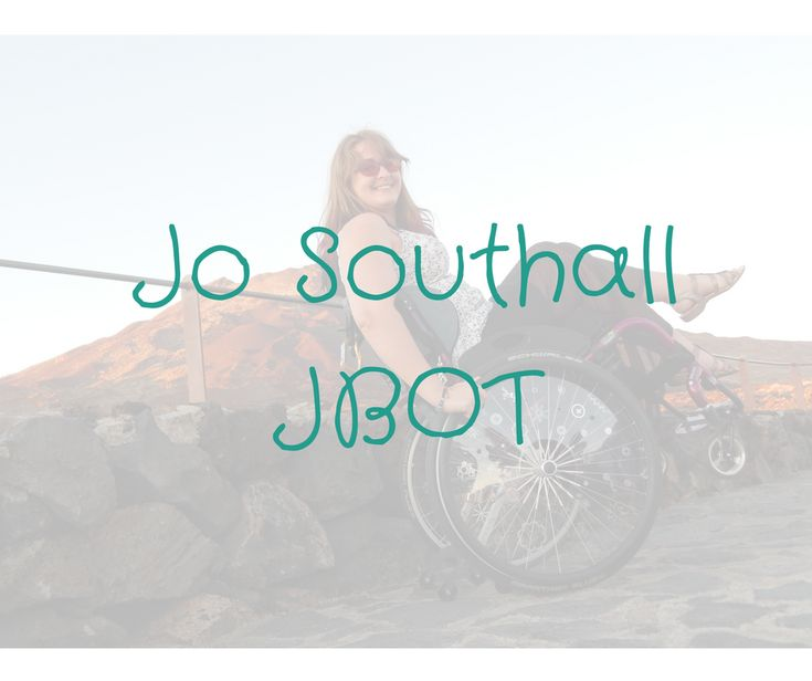 Jo Southall OT. Advice for managing chronic illnesses, accessibility and tech specialist, creative thinker. Corporate & Individual consultations available.