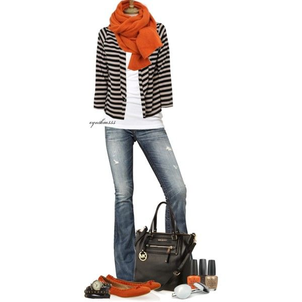 Fall Outfits | Old Jeans and a White Tank | Fashionista Trends