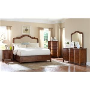 Broyhill Furniture Creswell California King Bedroom Group   Turk Furniture    Bedroom Group Joliet, Champaign