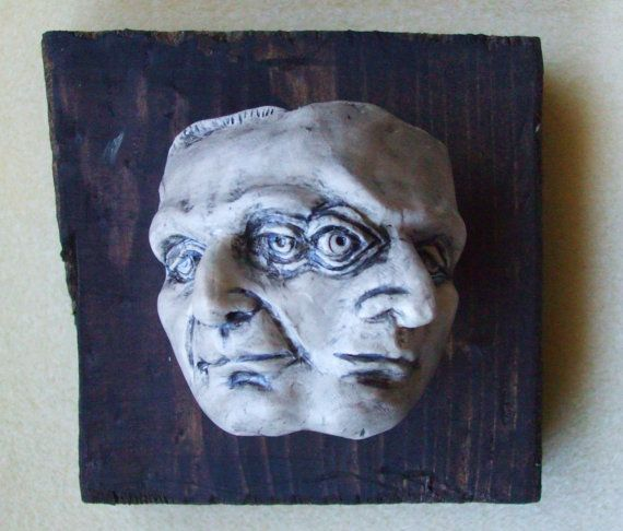 Janus The Two Faced God by AudraPhillipsDarkArt on Etsy ...