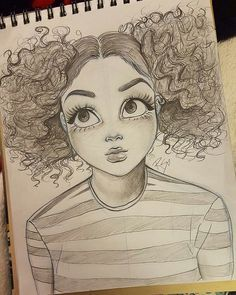 cute, creepy, Melanie Martinez girl inspired drawing by Christina Lorre
