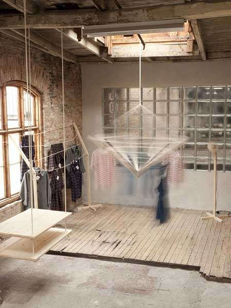 Mobile Retail Displays - The Clothes Keep on Moving at the Permanent Vacation Pop-Up Store (GALLERY)