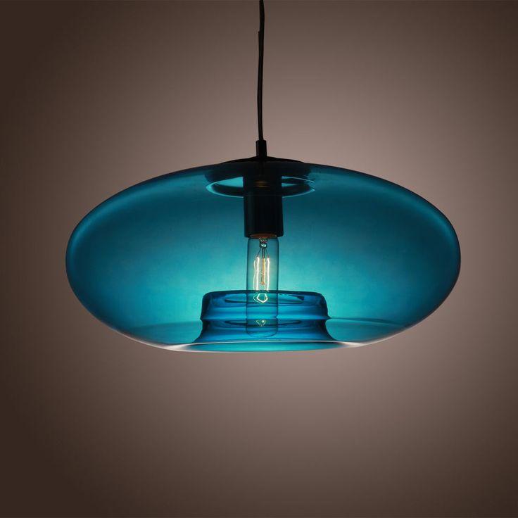 Ombra di vetro Lampada a sospensione lampadario luce di soffitto modern light
