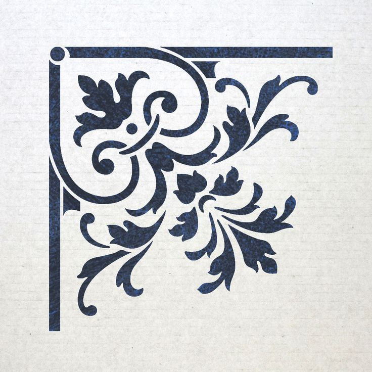 Better than wallpaper or vinyl sticker. You can stencil in ANY color of your choice to perfectly match your decor.