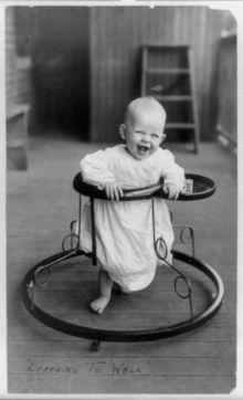 Baby walker, 1905