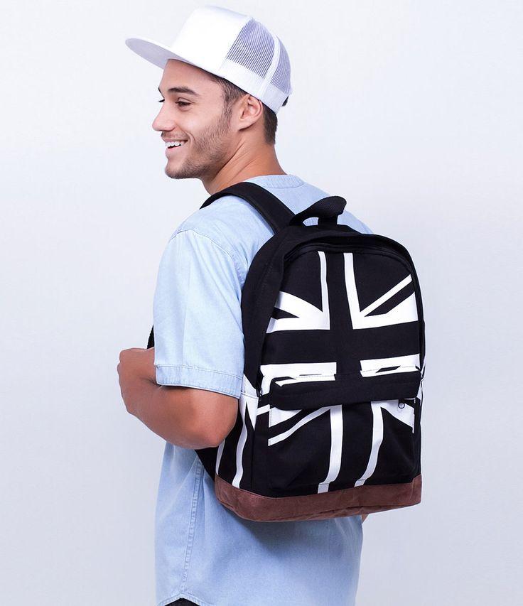 Mochila masculina    Com estampa    Marca: Accessories Men    Tecido: lona        Veja outras opções de    mochilas masculinas.