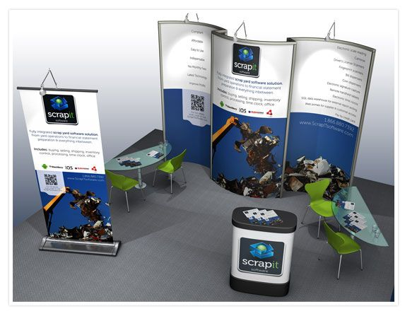 Trade Banner Stands : The best trade show banners ideas on pinterest
