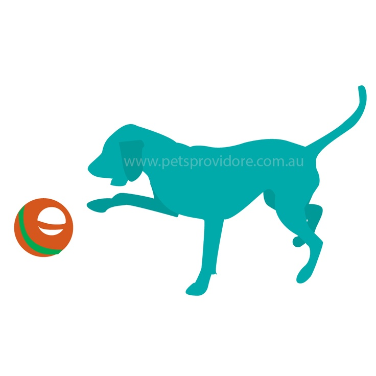 At last, a dog ball designed for dog fun    Two grips means easy throwing for humans & easy pick up for dogs    Natural rubber combines toughness with safety, Major Dog toys are even child saf