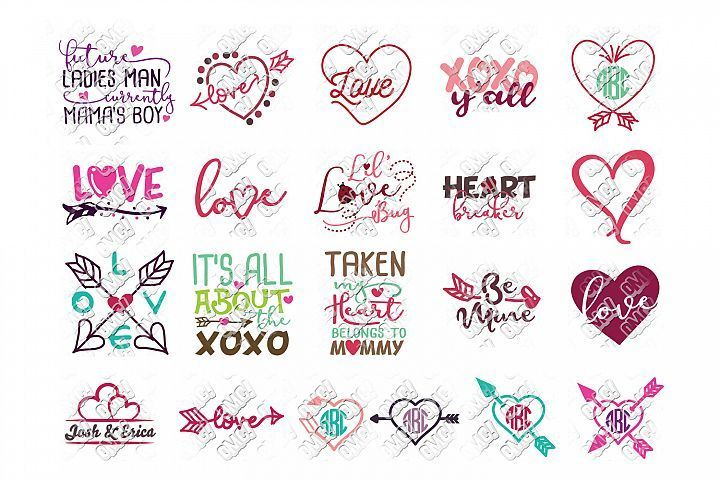 Download Valentines Day Svg Bundle Ohmycuttables Crafters Svgs Free Svg Files Monogram Free Valentine Svg