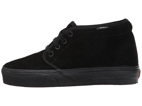 Vans Chukka Boot Core Classics Black/Black (Suede) - Zappos.com Free Shipping BOTH Ways