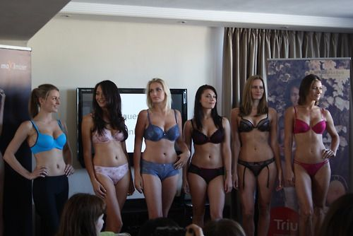 Triumph collection preview. All kinds of gorgeous different body types!