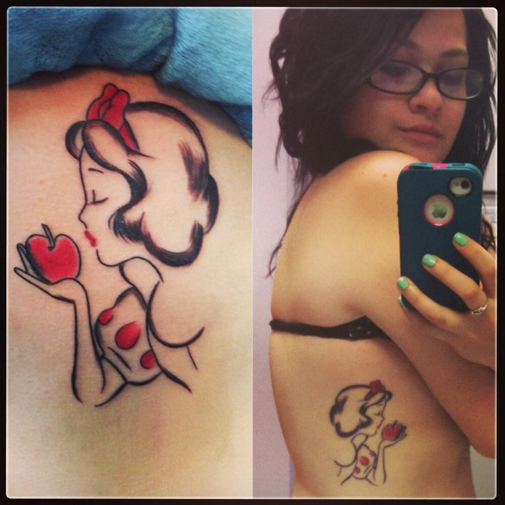 My Snow White tattoo
