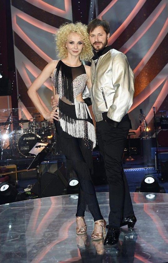Jana Plodková a její tanečník Michal Padevět
