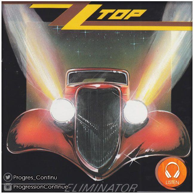 ZZ Top - Eliminator (1983) // Non, ce n'est pas le premier album du groupe à ne pas porter de titre hispanique, Billy Gibbons ayant déclaré qu'il fallait comprendre El Iminator !. Le plus célèbre et le plus vendu des albums de ZZ Top est aussi son meilleur. #zztop #eliminator #album #rock