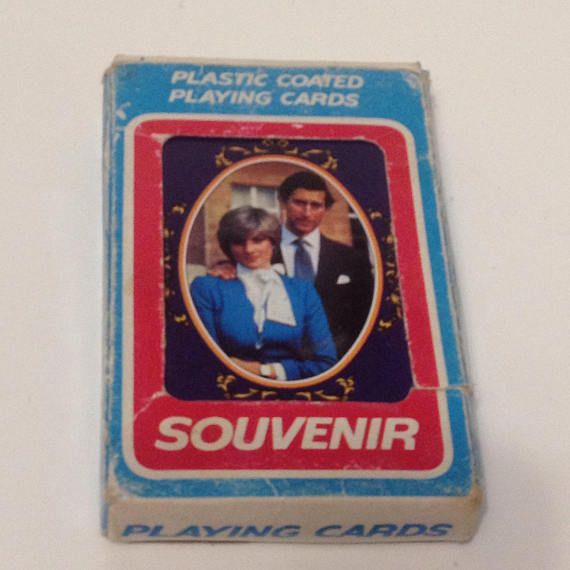 Royal Wedding Charles & Diana playing cards 1981