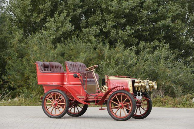 c.1903 Darracq Twin-Cylinder 12hp Rear-Entrance Tonneau #VeteranCarRun