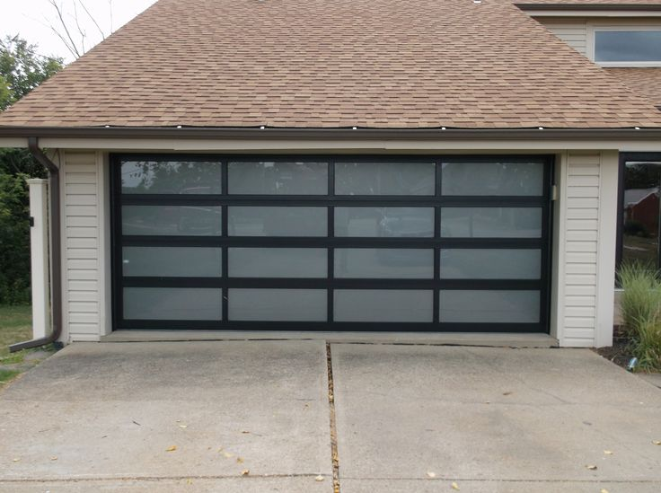 This is a Full View Aluminum CHI Garage Door installed by Thomas V. Giel Garage Doors!  http://www.gielgaragedoors.com/