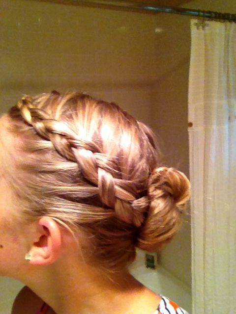 95 Best Dance Recital Hair Styles Images On Pinterest
