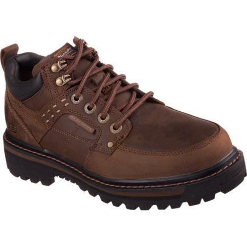 Skechers Men's Boots Relaxed Fit Mariners Vitor Dark
