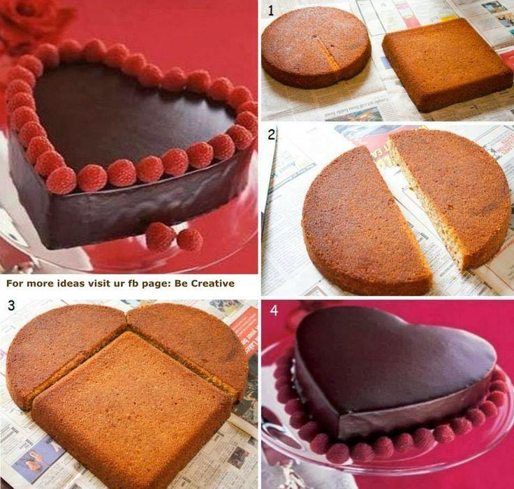 κέικ καρδιά - cake heart
