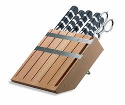 F. Dick - Wooden Knife Block With 1905 Series Knives - New - FREE SHIPPING!