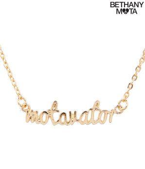 Motavator Short-Strand Necklace