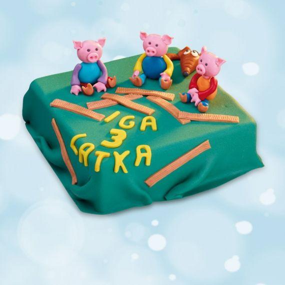 Tort Trzy Świnki