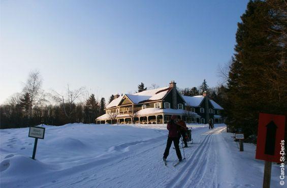 Zurbaines.com | Zescapade: Auberge Le Baluchon en hiver, spa et plein air >> http://zurbaines.com/fr/zen-zurbaine/spas-bien-etre/auberge-le-baluchon/
