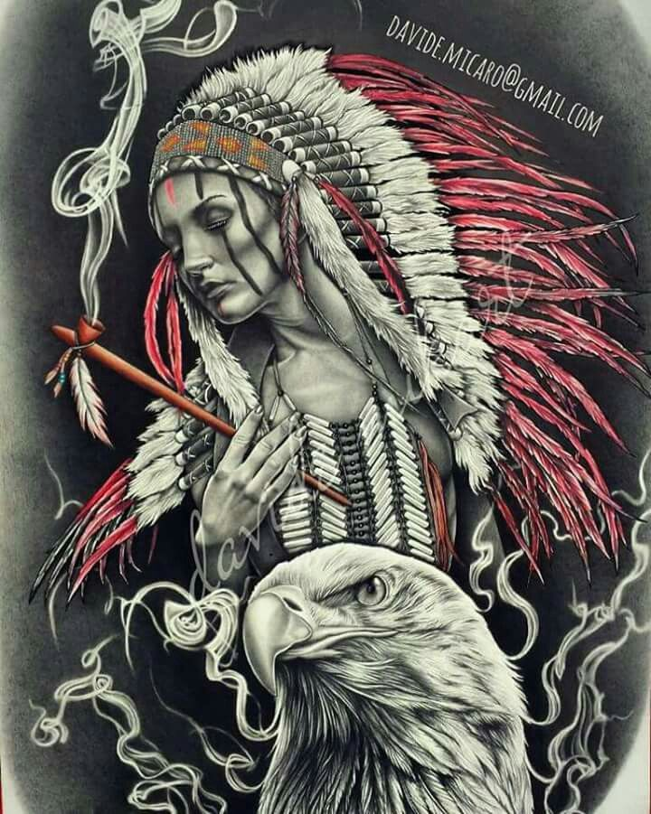 Getting A Native American Indian Tattoo The Trouble With - 720×816
