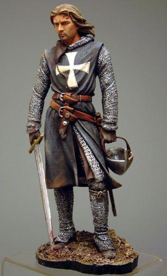 Рыцарь Госпитальер, 12 век. -- Knight Hospitaller, 12th century