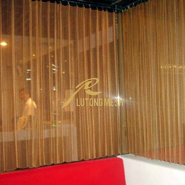 metal room divider for beauty salon